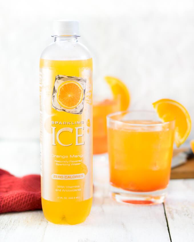Orange Mango Sparkling Ice
