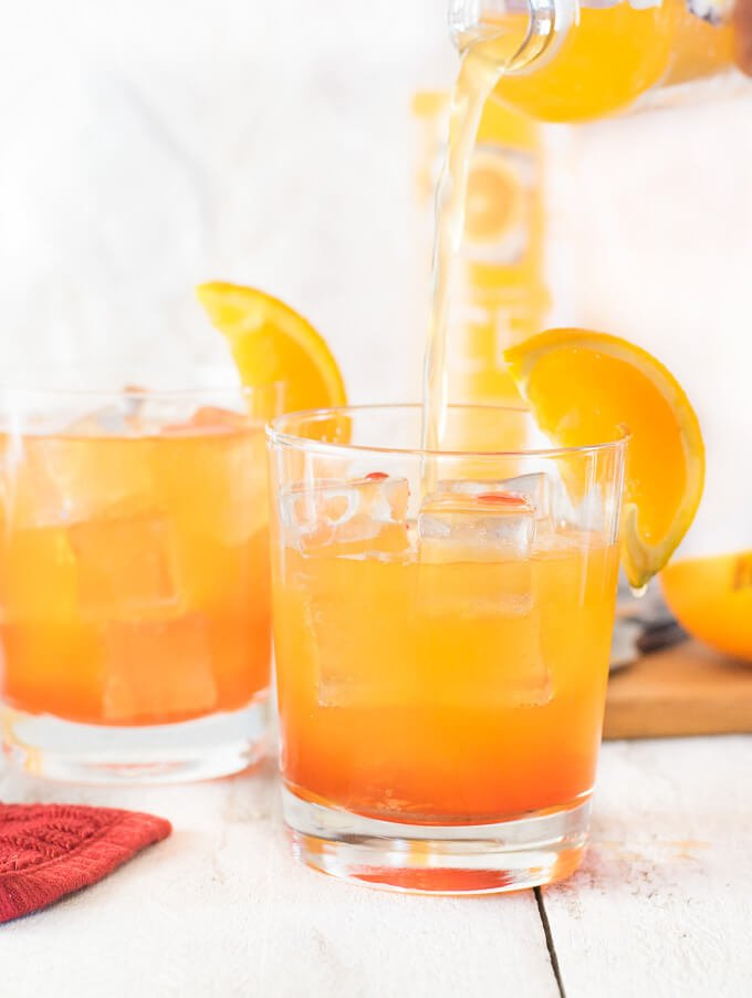 Sparkling Sunrise Cocktail