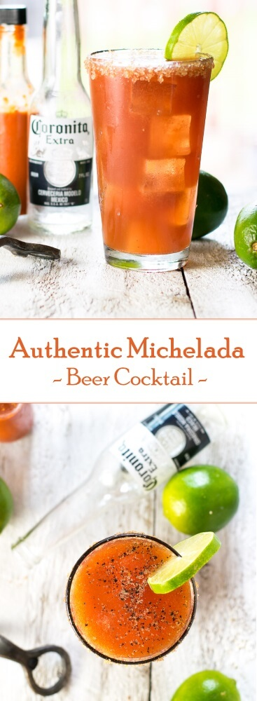 Authentic Michelada Beer Cocktail Recipe