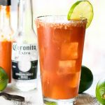 Authentic Michelada Beer Cocktail
