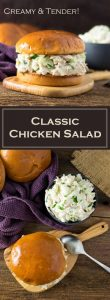 Classic Chicken Salad Recipe - Creamy & Tender