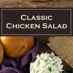 Classic Chicken Salad Recipe - Creamy & Tender
