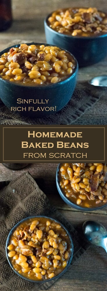 Homemade Baked Beans from Scratch recipe