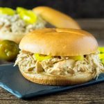 Crock Pot Mississippi Crack Chicken Sandwiches