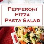 Pepperoni Pizza Pasta Salad recipe