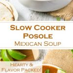Slow Cooker Posole Mexican Soup Recipe