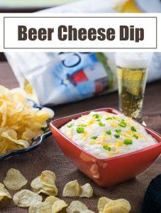 Beer Cheese Dip recipe #appetizer #dip #party #beer #cheddar #cheese