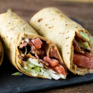 BLT Wraps with Secret Sauce