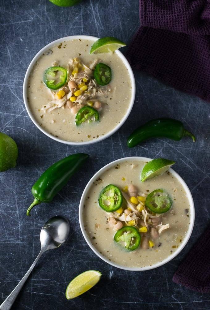 Crock Pot Chicken Chili Verde
