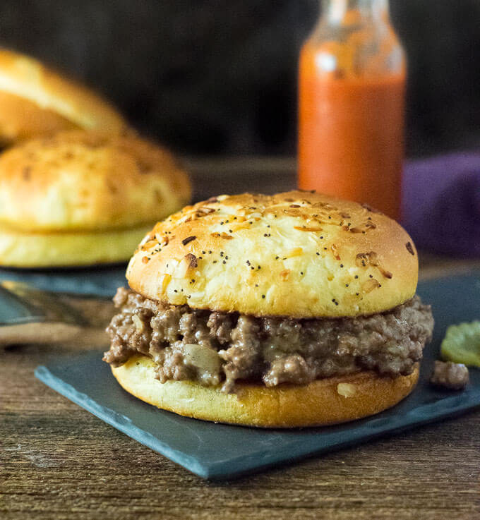 Quick and Easy Cheesy Joes