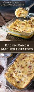 Bacon Ranch Mashed Potatoes recipe