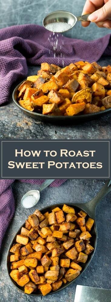 How to Roast Sweet Potatoes recipe