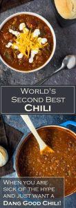 World's Second Best Chili