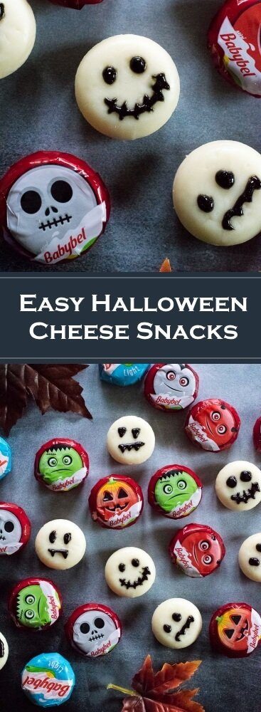 Easy Halloween Cheese Snacks