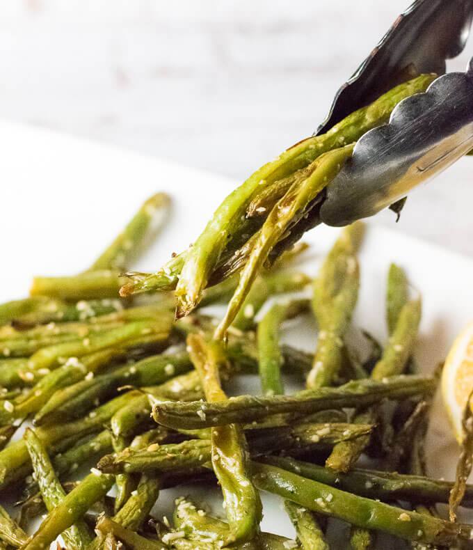 Lemon Parmesan Green Beans Recipe