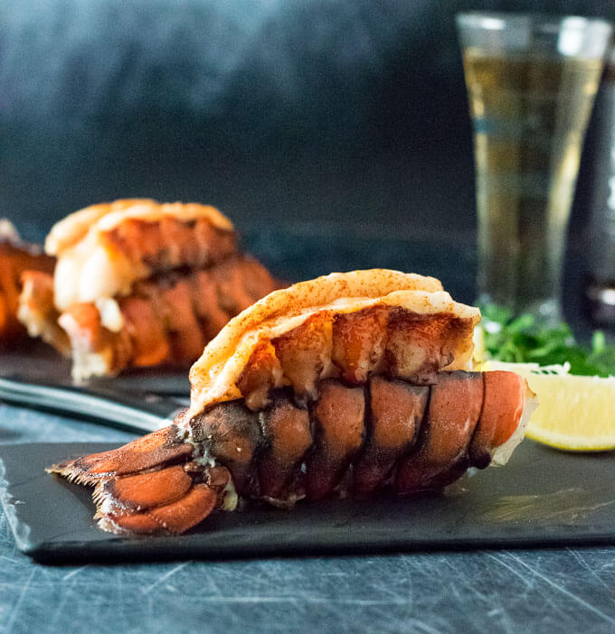 Baked Lobster Tails with Butter