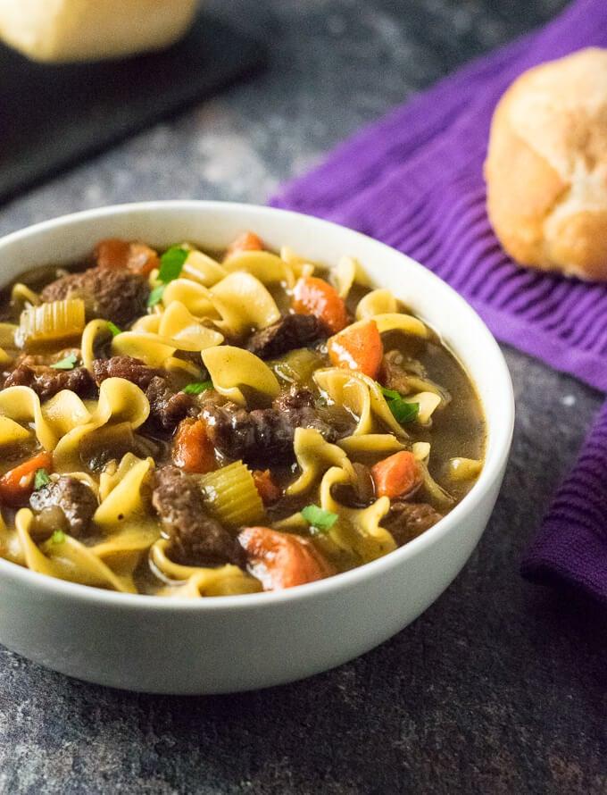 Beef Noodle Soup Dutch Oven