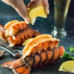 Butter-Basted Baked Lobster Tails