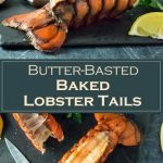 Butter-Basted Baked Lobster Tails Recipe