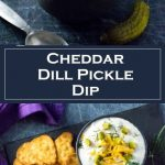 Cheddar Dill Pickle Dip Recipe - Party Appetizer