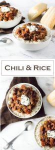 Chili and Rice recipe