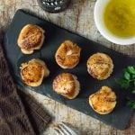 Pan-Seared Scallops with Garlic Butter
