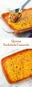 Quinoa Enchilada Casserole recipe