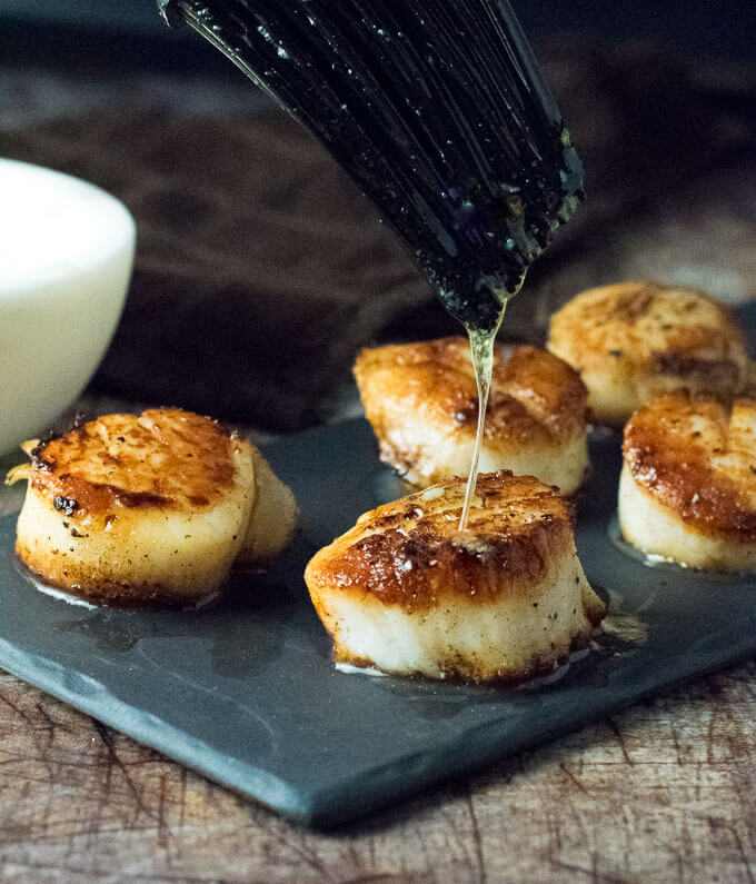 Scallops with Garlic Butter