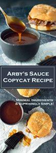 Arby's Sauce Copycat Recipe - BBQ Sauce