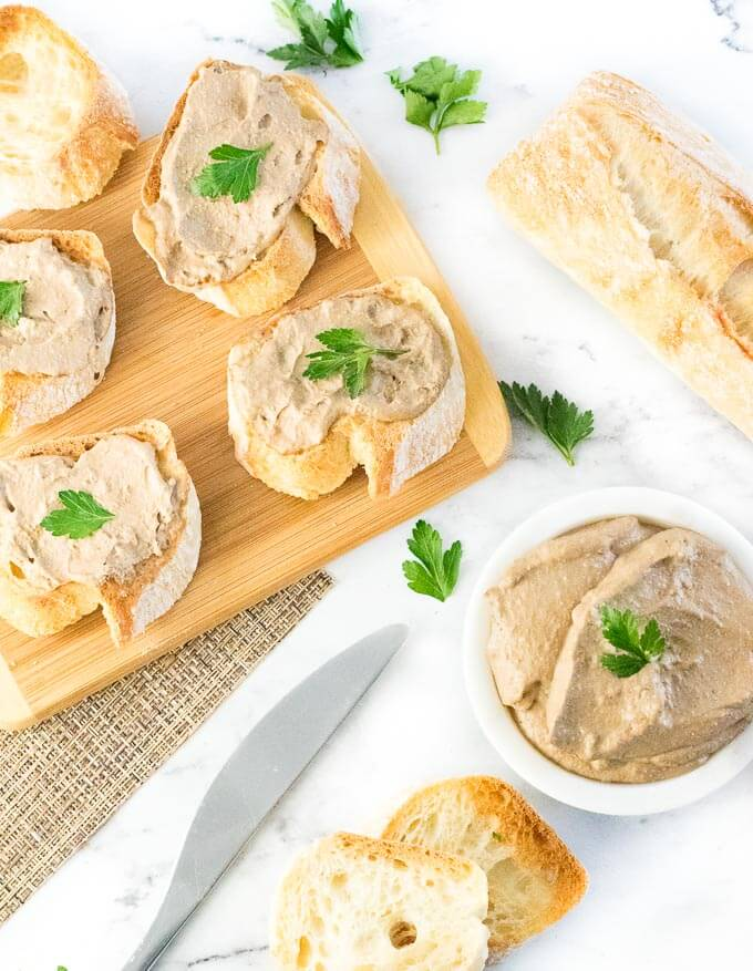 Chicken liver pate fox valley foodie chicken liver pate party appetizer forumfinder Image collections
