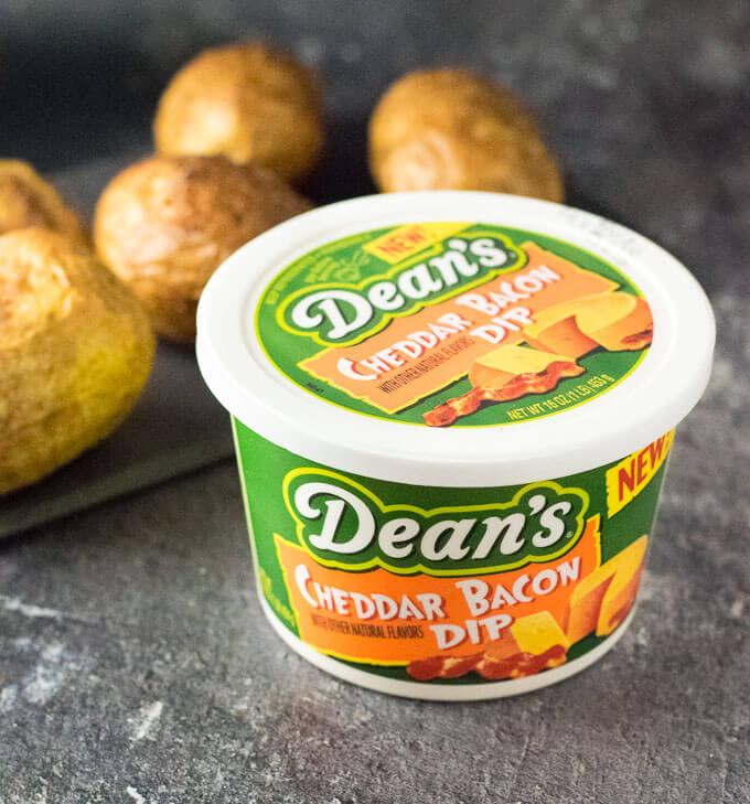 Dean's Cheddar Bacon Dip