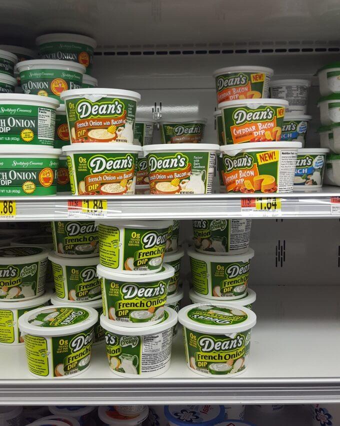 Dean's Dip Walmart