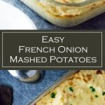 Easy French Onion Mashed Potatoes Recipe - Side Dish