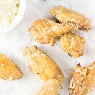 Garlic-Parmesan Chicken Wings Baked Recipe