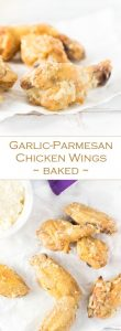 Garlic-Parmesan Chicken Wings - Baked - Party Appetizer