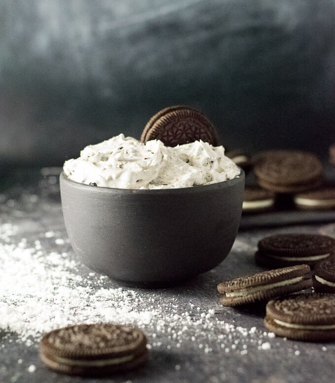 Oreo Cookie Dip