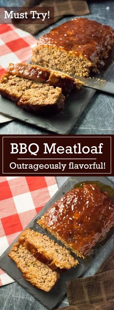 BBQ Meatloaf Recipe - dinner