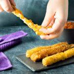 Doritos Mozzarella Sticks with String Cheese