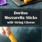 Doritos Mozzarella Sticks with String Cheese - Appetizer Recipe