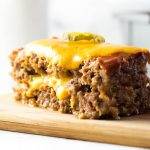 Best Cheeseburger Meatloaf