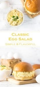 Classic Egg Salad Recipe - Easy and Flavorful