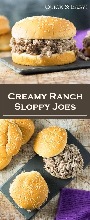 Creamy Ranch Sloppy Joes recipe - Quick and Easy