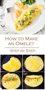 How to Make an Omelet - Breakfast Recipe Step by Step