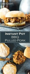 Instant Pot BBQ Pulled Pork Recipe - Easy