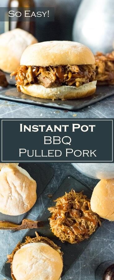 Instant Pot BBQ Pulled Pork Recipe - Easy