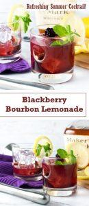 Blackberry Bourbon Lemonade recipe