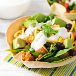 Healthy Chicken Taco Salad Recipe