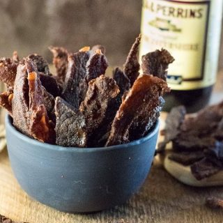 Homemade Beef Jerky Recipe in dehydrator or oven