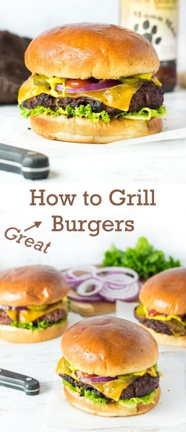 How to Grill Burgers - Recipe