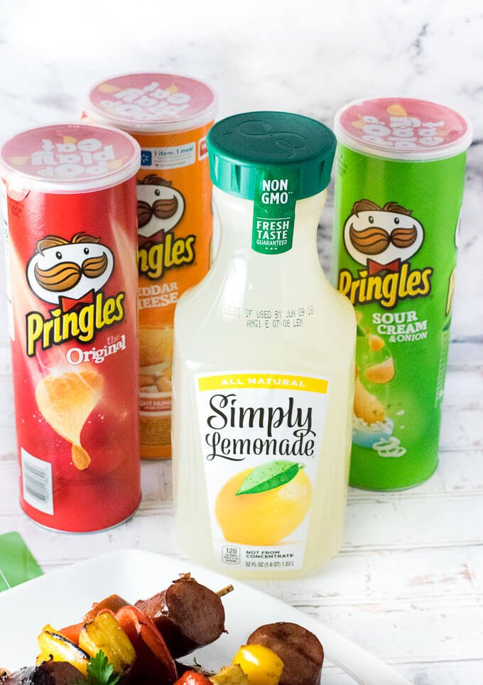 Simply Lemonade Pringles Sam's Club